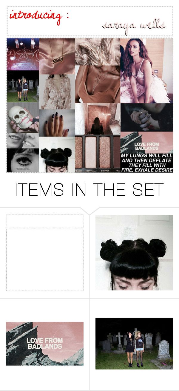 """""""*:・゚✧introducing : saraya wells*:・゚✧"""" by the-mighty-kc ❤ liked on Polyvore featuring art"""