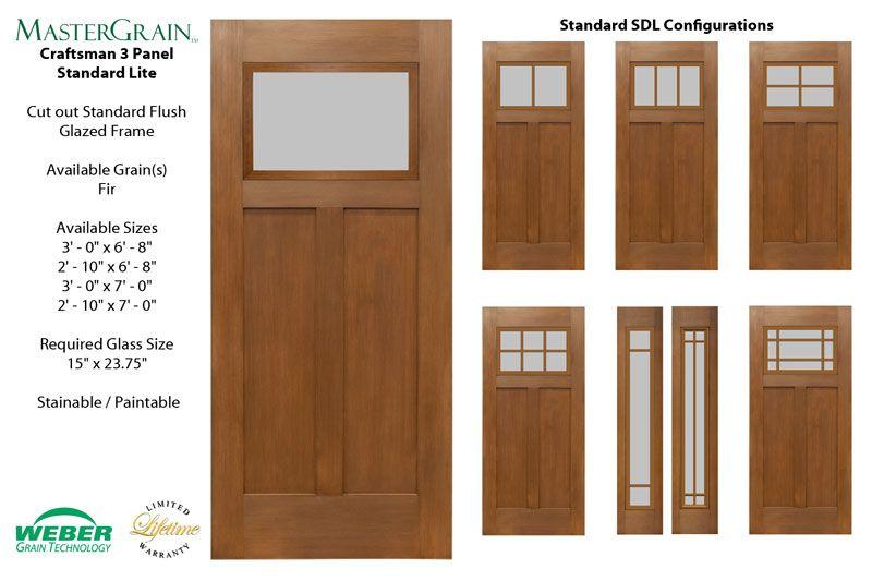 Craftsman Fiberglass Exterior Doors Craftsman Door Sidelite