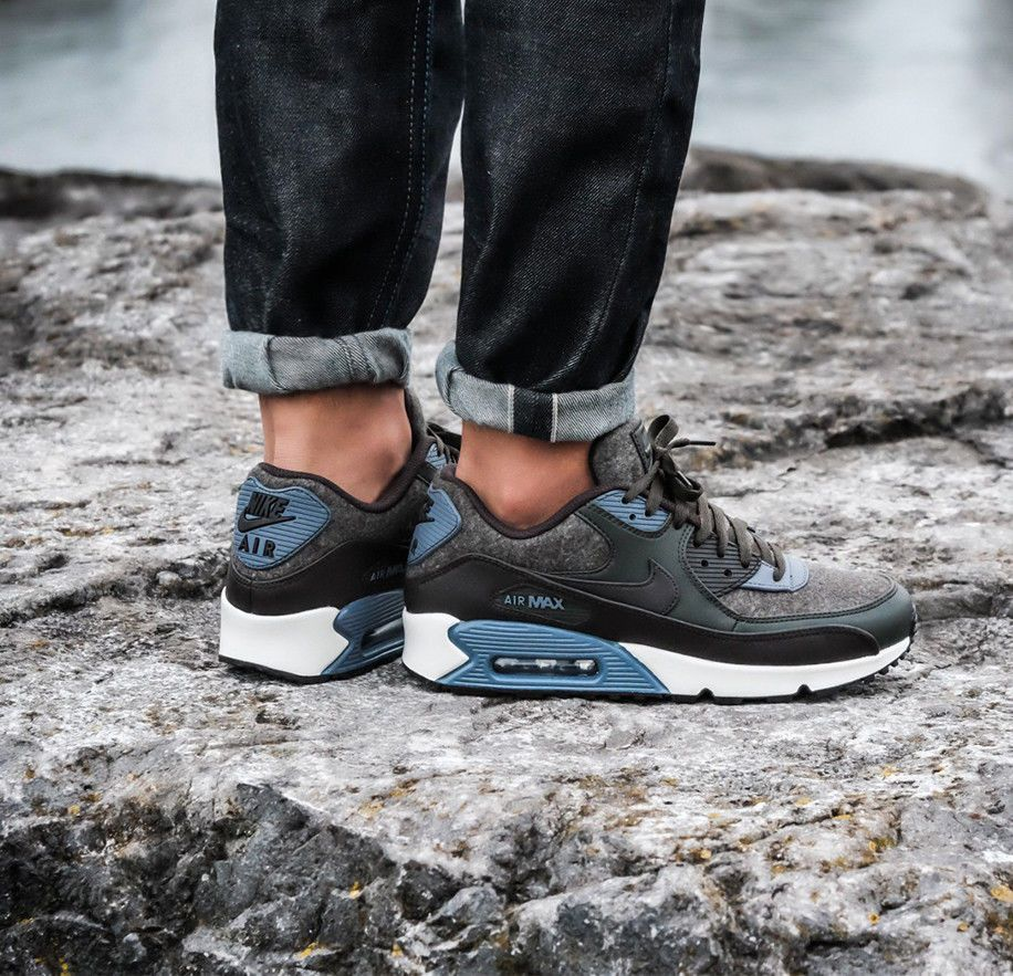 insidesneakers • Nike Air Max 90 Premium Leather Brown Off