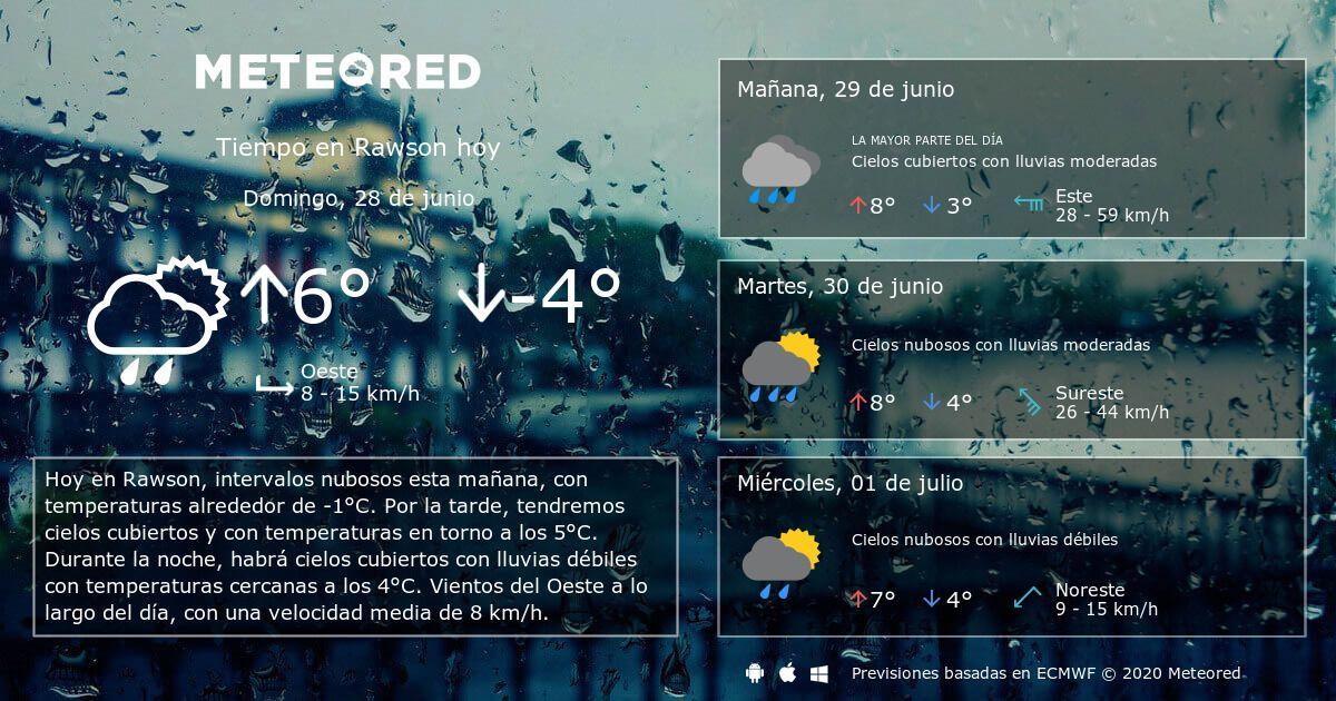 Tiempo En Rawson Meteored Clima Clima En Cancun Pronóstico Del Tiempo