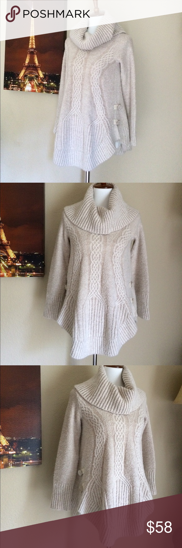 Anthropologie Angel of the North Sweater | Anthropologie, Cowl ...