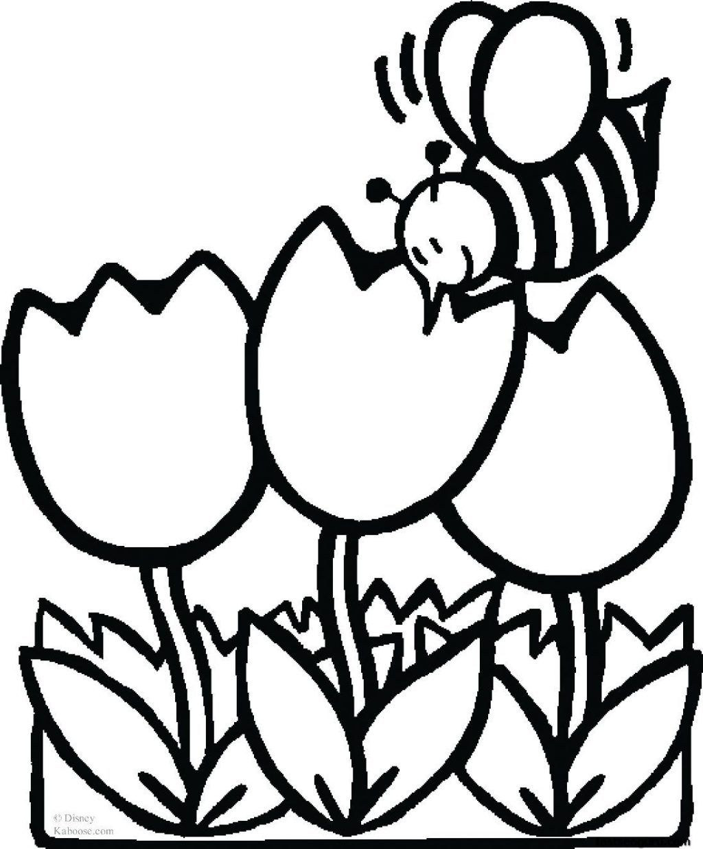 25 Creative Photo Of Spring Flowers Coloring Pages Albanysinsanity Com Spring Coloring Pages Bee Coloring Pages Flower Coloring Pages