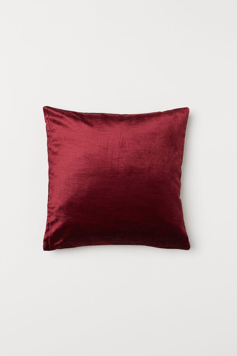 Dark Red Throw Pillows.Velvet Cushion Cover Velvet Cushions Cushions Red Throw
