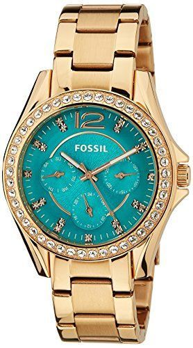 Montre Pour Femme Fossil Womens Es3385 Riley Multifunction Rose