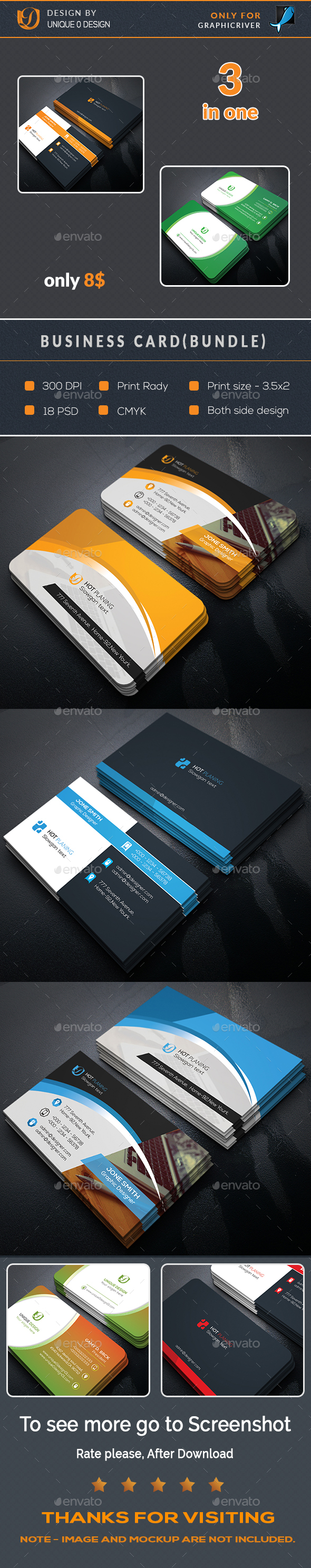 Business card design template bundle business cards print design business card design template bundle business cards print design template psd download flashek Choice Image