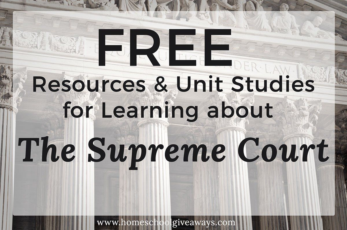 Free Lesson Plans How The Supreme Court Works