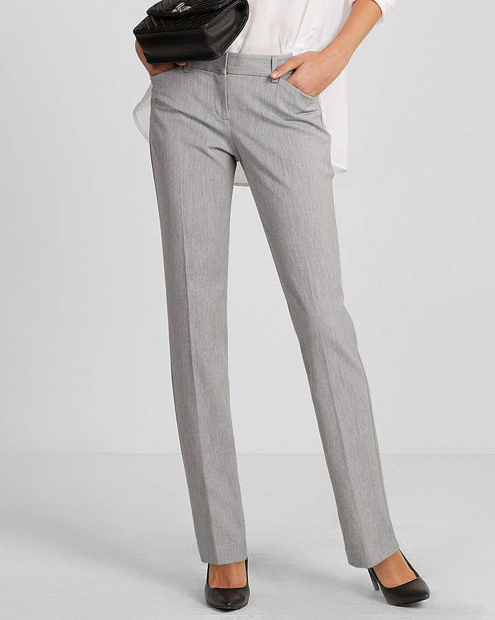 d0f94b12772ad Express Low Rise Straight Leg Editor Pant | Workwear Ideas | Pants ...