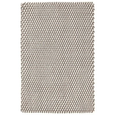 Dash & Albert Two-Tone Rope Fieldstone and Ivory Indoor/Outdoor Rug