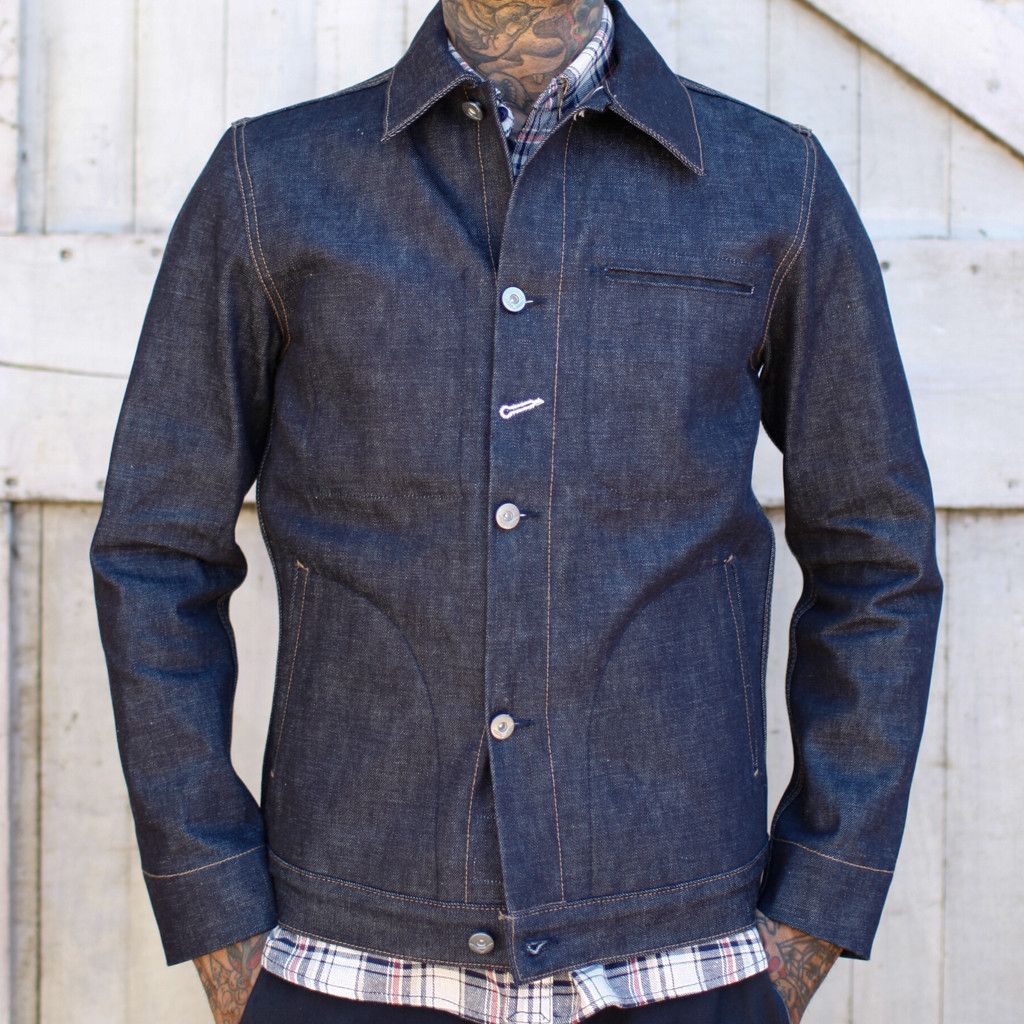 Rogue Territory SUPPLY JACKET - INDIGO | American Made