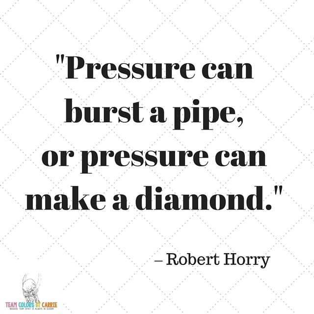 how do you handle pressure  sports quotes shared by