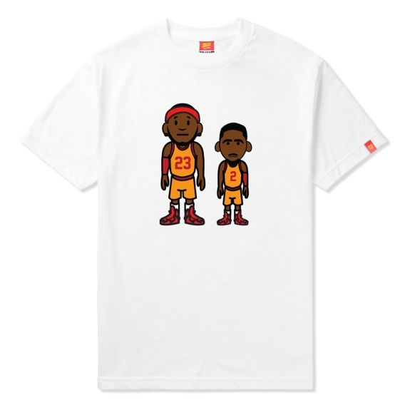 ILTHY LeBron James x Kyrie Irving u002723 and 2u0027 Tee Tees Pinterest - fresh nba coloring pages of lebron james