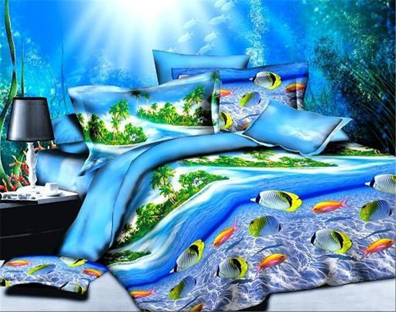 Cheap Fish Bedding Sets Buy Quality Bedding Set 3d Directly From