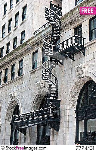 Best Spiral Fire Escape Spiraling Fire Escape Stairs 400 x 300