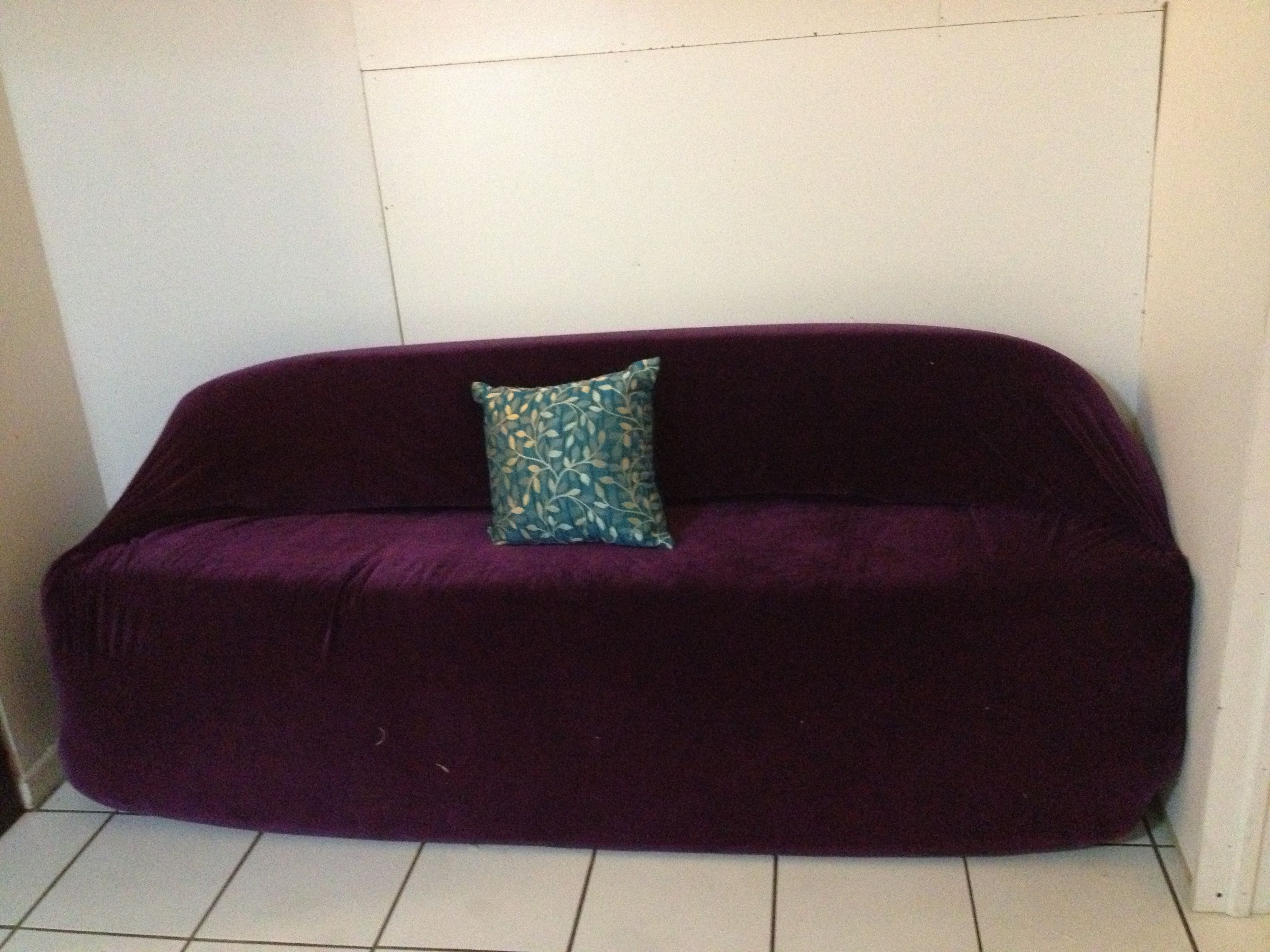 DIY sofa with two old mattresses with zero cost recycle