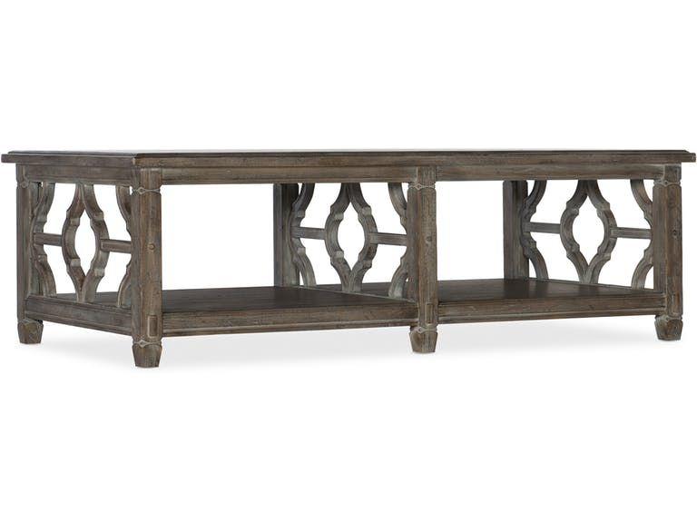 Hooker Furniture Living Room Modele Rectangle Cocktail Table 5782 80110 80