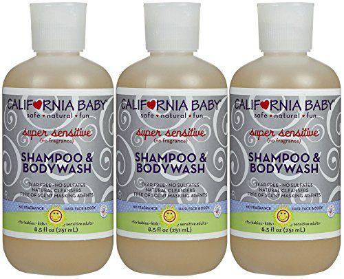 Introducing California Baby Super Sensitive Shampoo Body Wash Fragrance Free 85 Oz 3 Pk Get Yo Sensitive Shampoo Shampoo Body Wash Fragrance Free Products