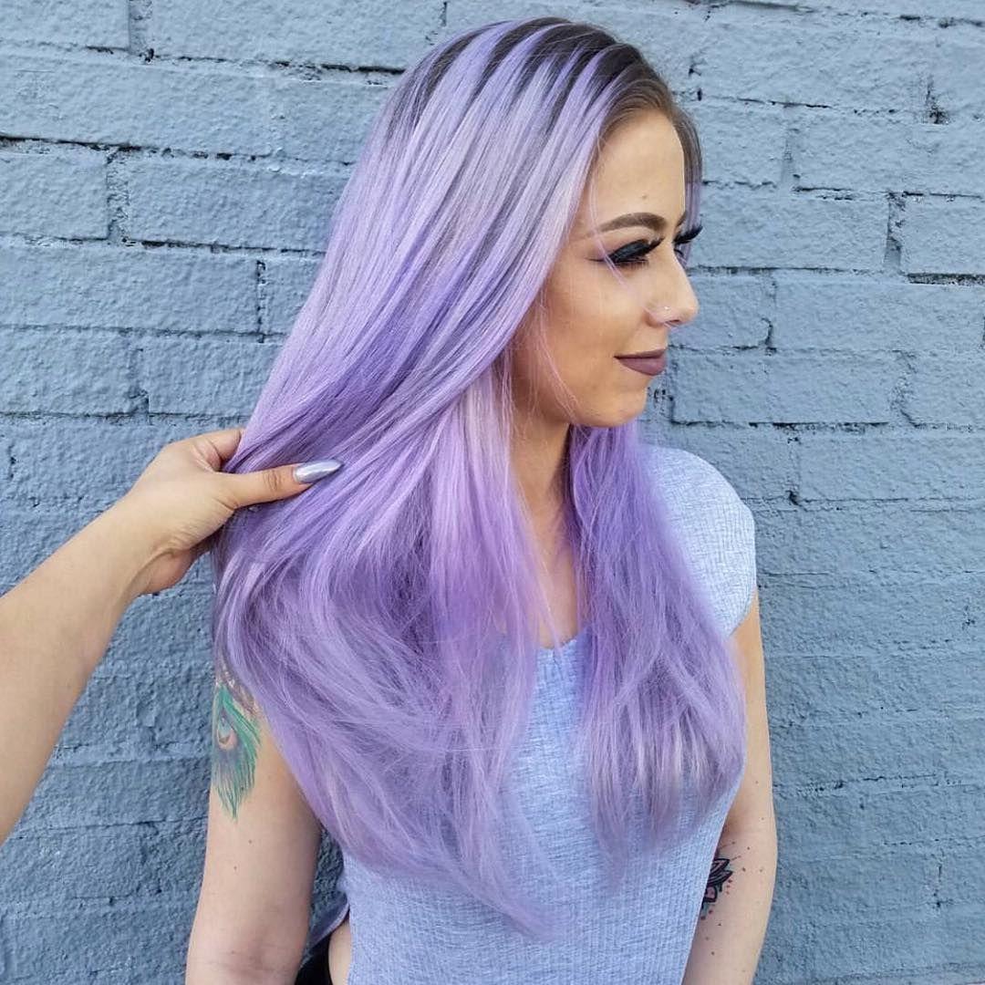 Lavender Fantasy Light Purple Hair Hair Color Purple Light Purple Hair Dye