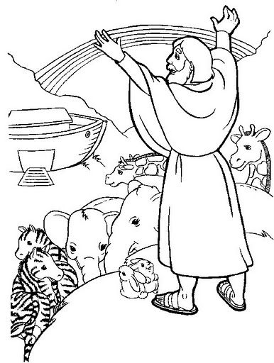 Noé e os animais | Desenhos bíblicos ♥ | Pinterest | Estrés, Flor y ...