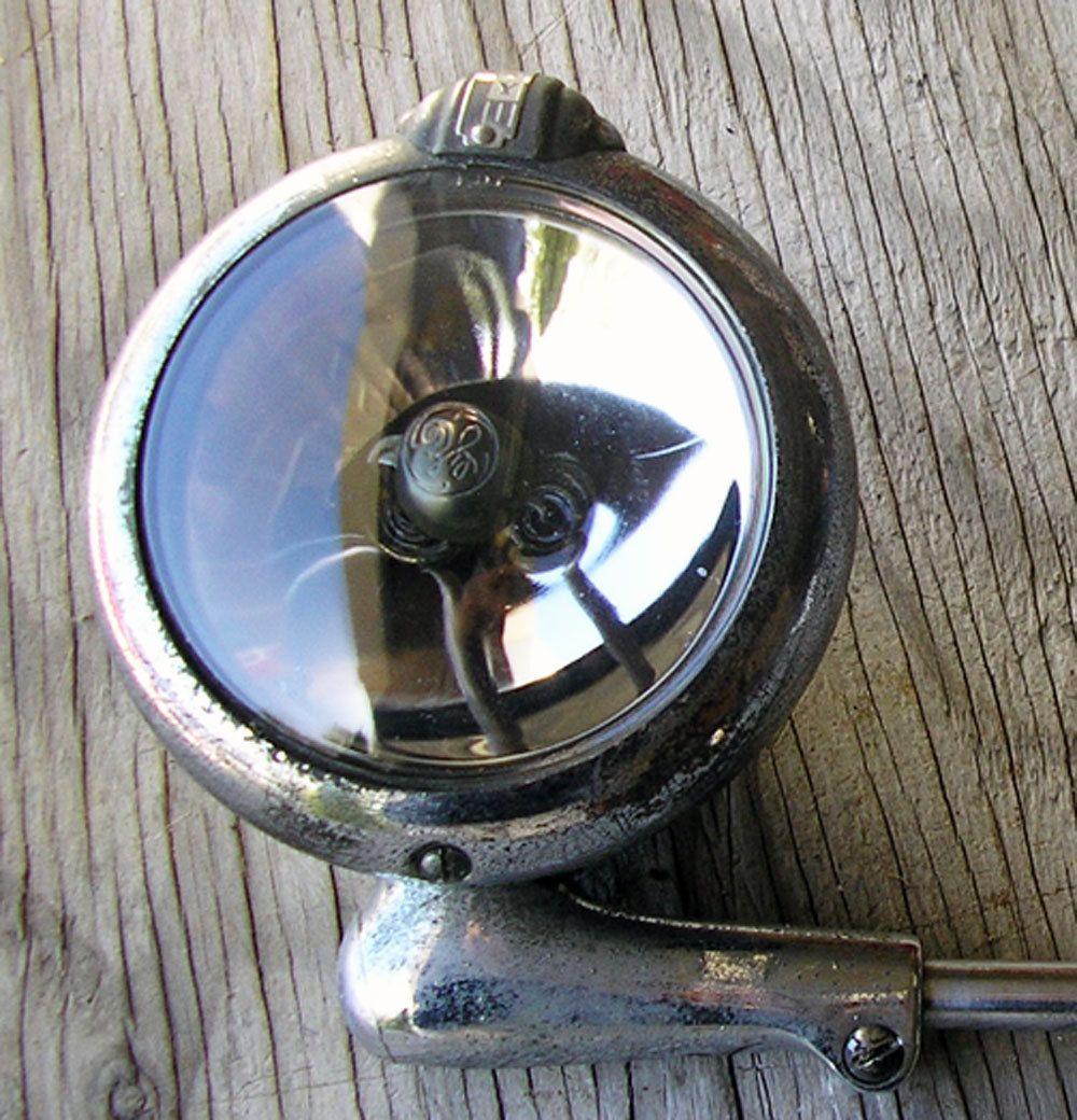 Vintage Car Spotlight ~ Glass Front Spotlight - Hot Rod - Old Car ...