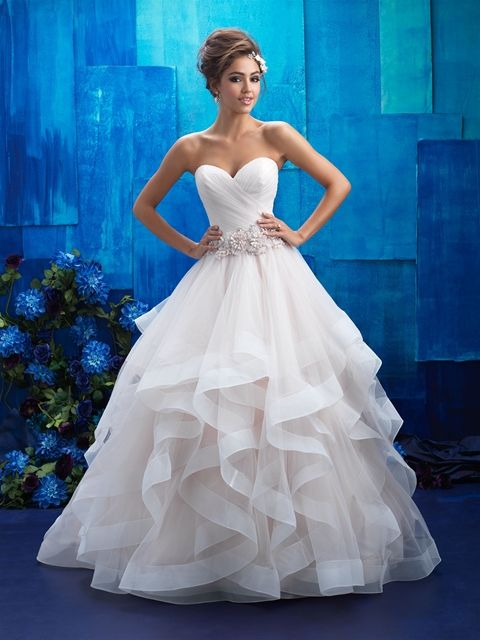 Allure Bridals 9408 Belle Of The Ball Wedding Dresses Wedding