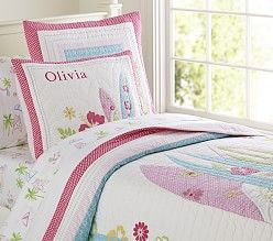 Girls' Quilts & Bedding Quilts, Kids' Bedding Quilts | Pottery Barn Kids