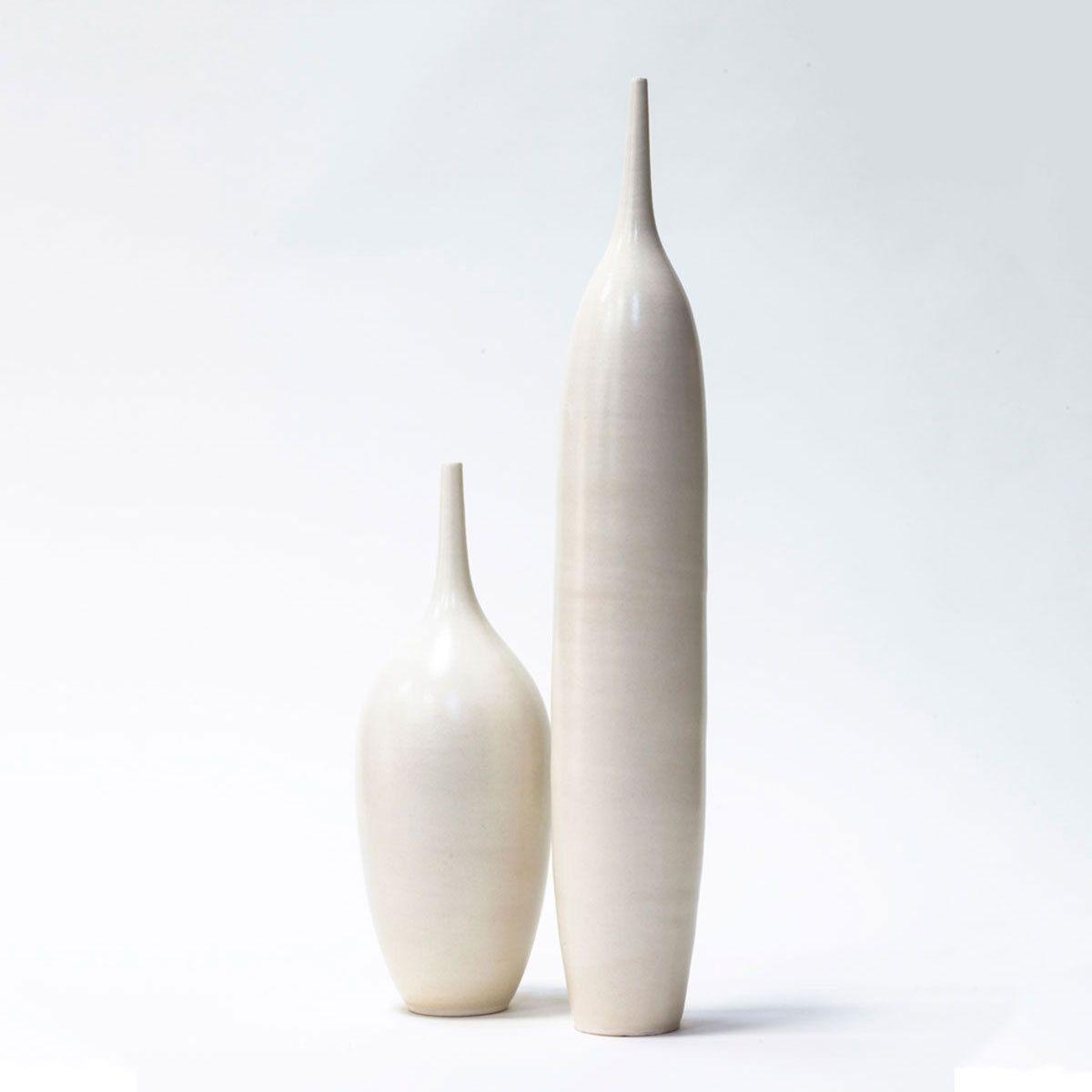 Stoneware Bottles Large Set Of 2