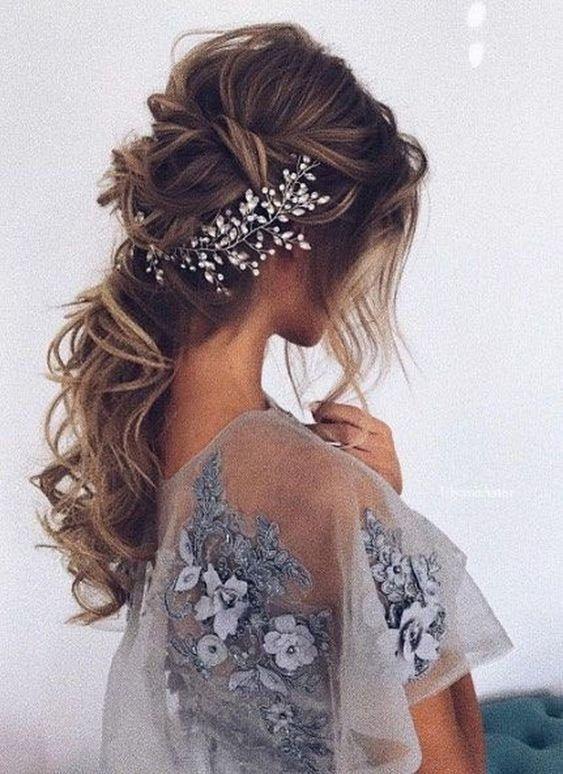 Bridal Hair vine Silver Wedding Hair vine Bridal hair accessories Wedding Hair Accessories Silver Bridal Hair Vine Crystal Bridal Hair piece
