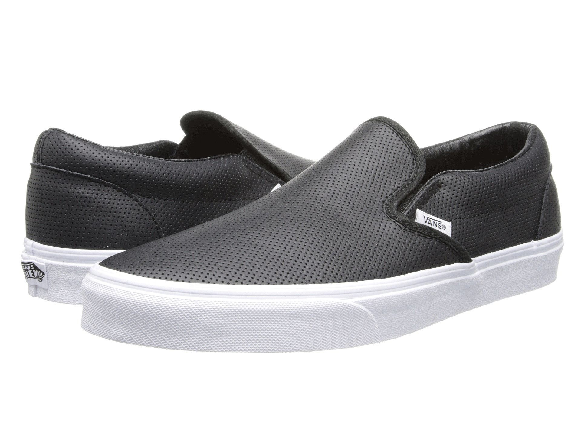 VANS Perf Leather Slip-On Men | Black (XG8DJ6)