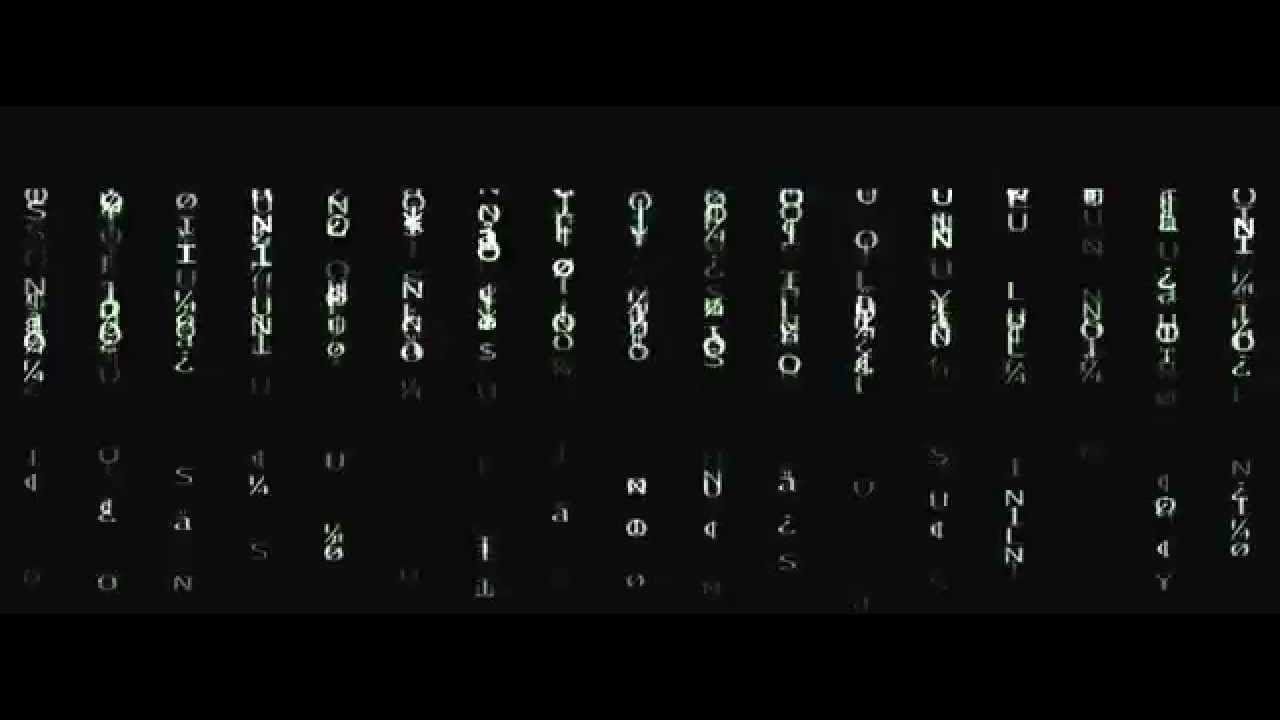 Matrix - VIDEO FOOTAGE - HD