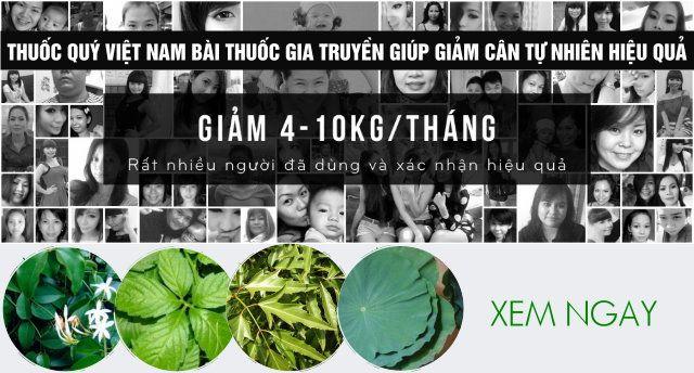 Thuốc nam giảm cân Hương Giang
