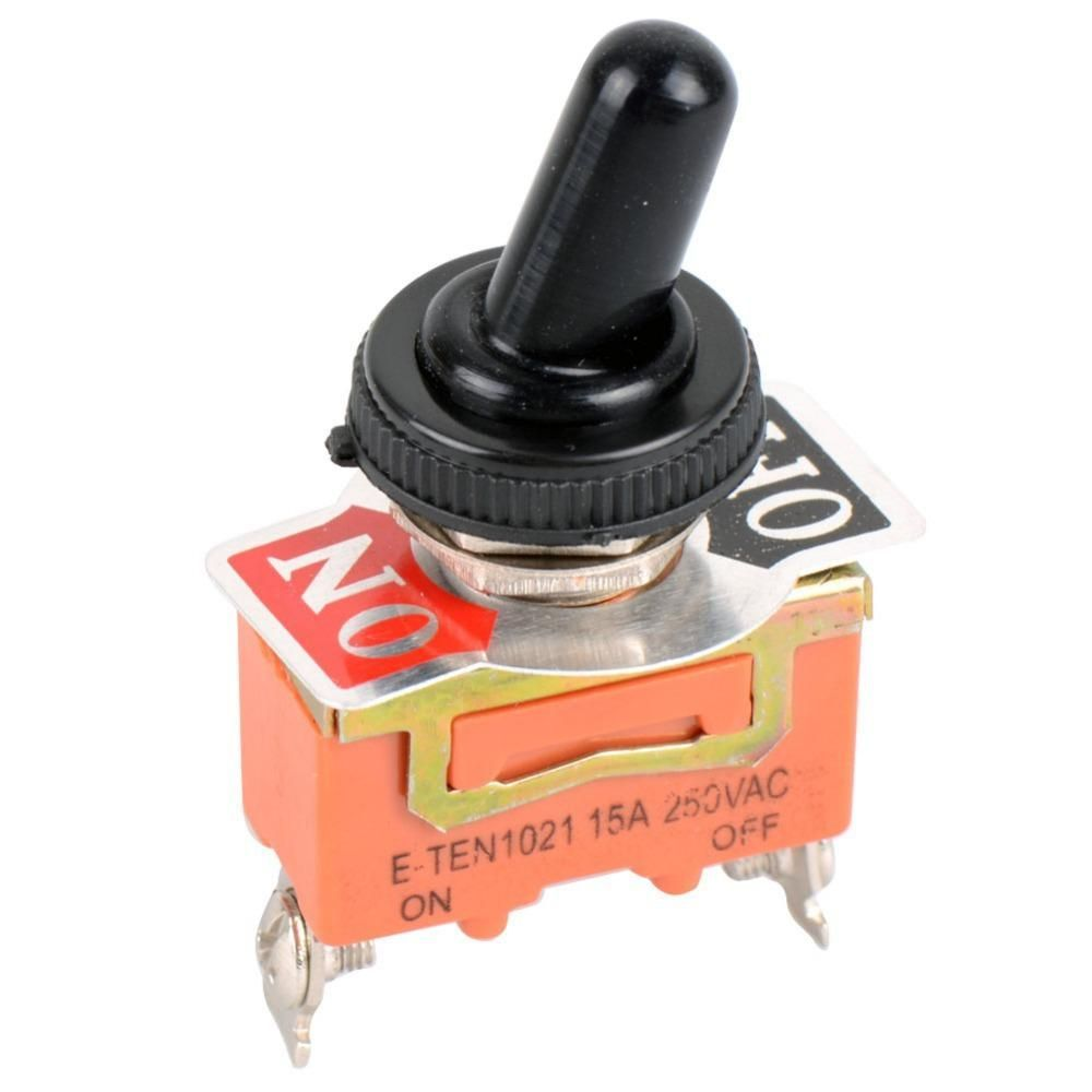1 Pc New Spst Waterproof Switch Cap On Off Miniature Toggle Switches 15a 250v Ve186 P0 4 Toggle Switch Switches Switch
