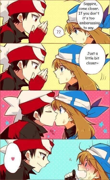 Pokemon romance fanfiction
