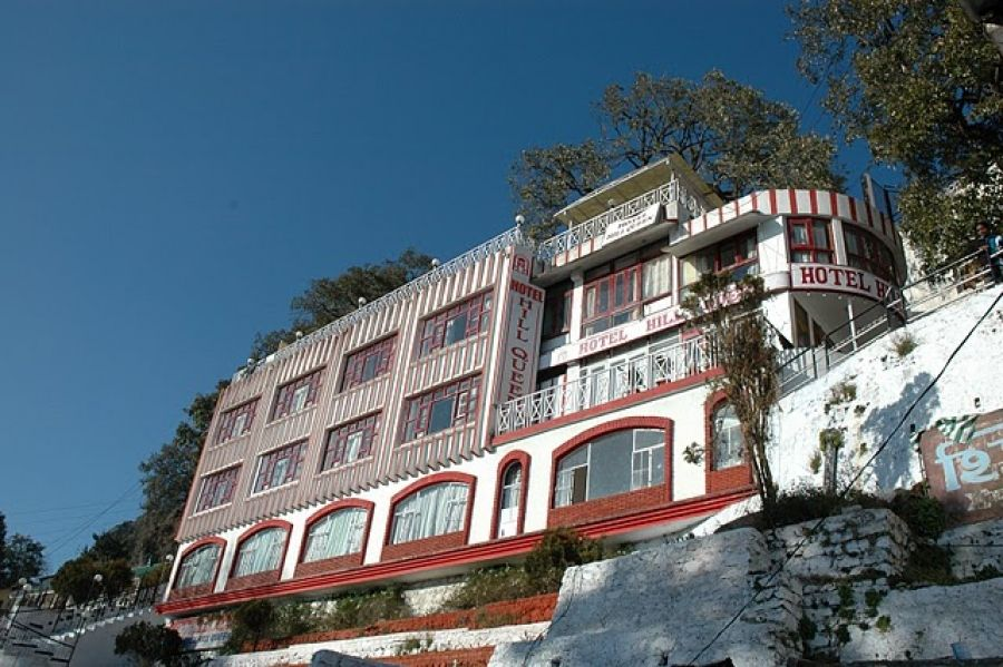 Mussoorie Hill Station Situated In The Foothills Of The Garhwal
