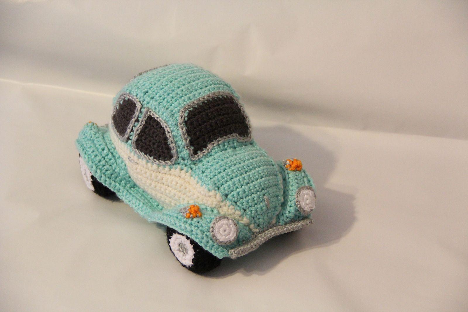 Ravelry Hug A Bug Cuddly Crocheted Car Pattern By Tracy Harrison Snuginadub