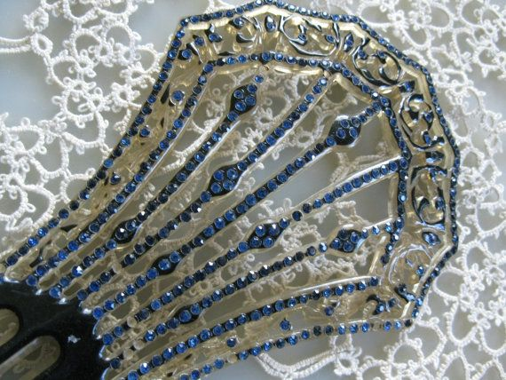 Mantellia Hair Comb, French Hair Comb, Flamenco By oldwellhouse