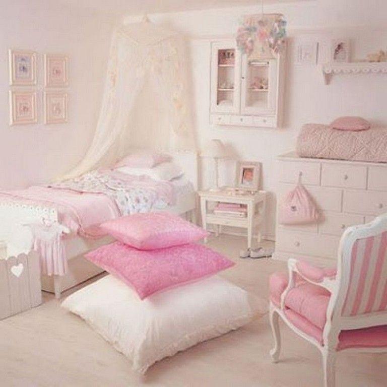 30 Lovely Pretty Shabby Chic Kids Bedroom Ideas For Girls Shabby Chic Bedrooms Bedroom For Girls Kids Apartment Bedroom Decor