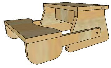 Folding Step Stool Plans Or Pattern For The Kids Complete