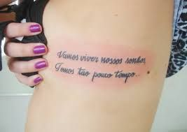 Pin Doa Melice Cabral Em Tatoo Tatuagem Feminina Frases
