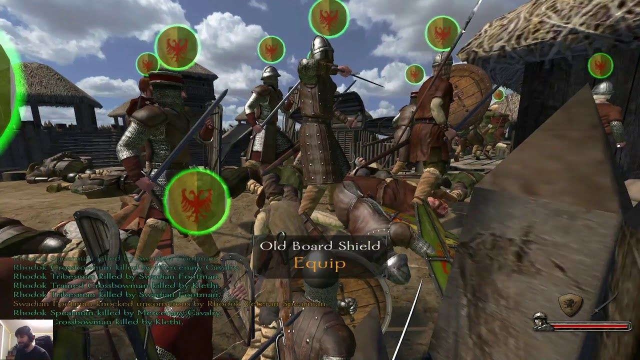 Mount And Blade Warband Part 8 Blade Mounting Video