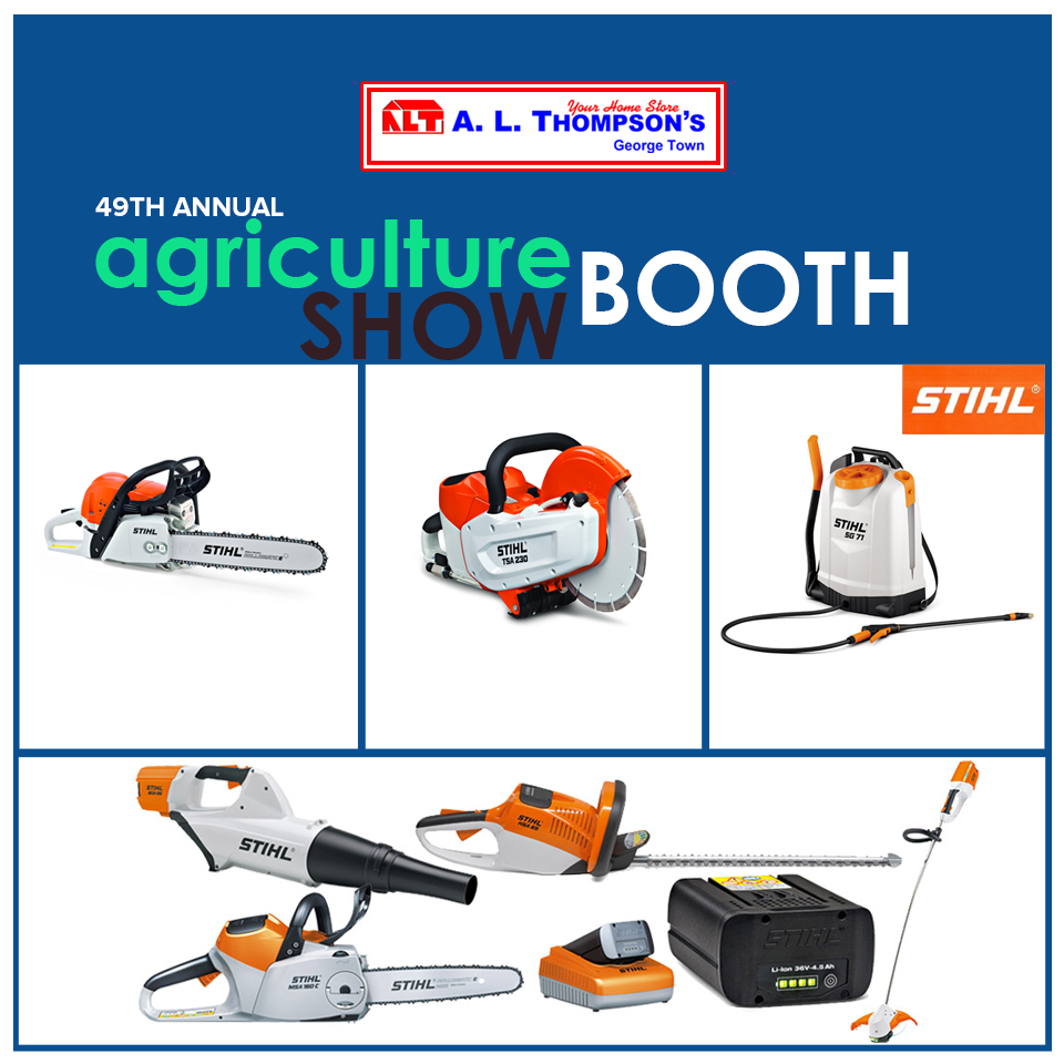 We look forward to seeing you all at the Agriculture Show tomorrow. Visit our stall where we will be showcasing our new line of STIHL products, including a selection of hedge trimmers and weed wackers.   #ALThompsons #AshWednesday #Agricultureshow #ALTsbooth  #STIHL #hedgetrimmers #weedwackers