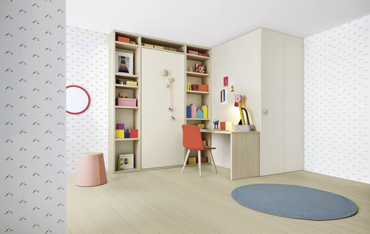 NIDI - Libreria Holly. Letto a scomparsa. | Idee | Pinterest | Room