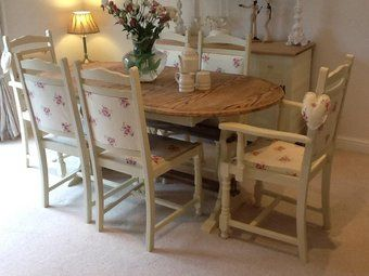 Preloved Mobile Preloved Country Style Oak Table And 6 Chairs For Sale In Pontefract Yorkshire With Images Oak Table Household Furniture Chairs For Sale