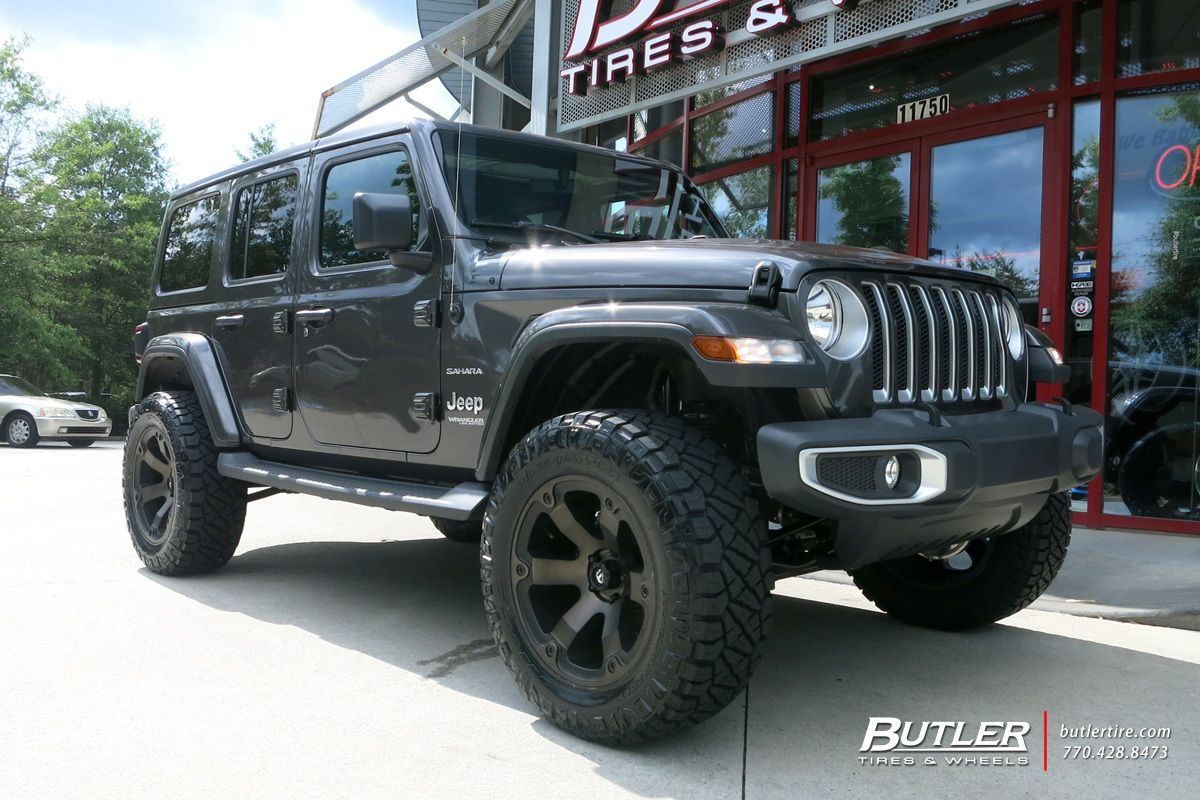Jeep Wrangler With 20in Fuel Beast Wheels Jeep Wrangler Jeep