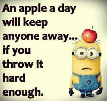 I need to stock up on my daily apples.