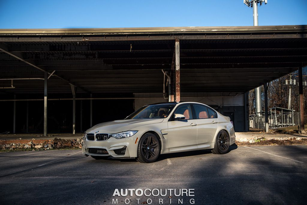 BMW Individual F80 Fashion Grey / Amaro Brown Interior