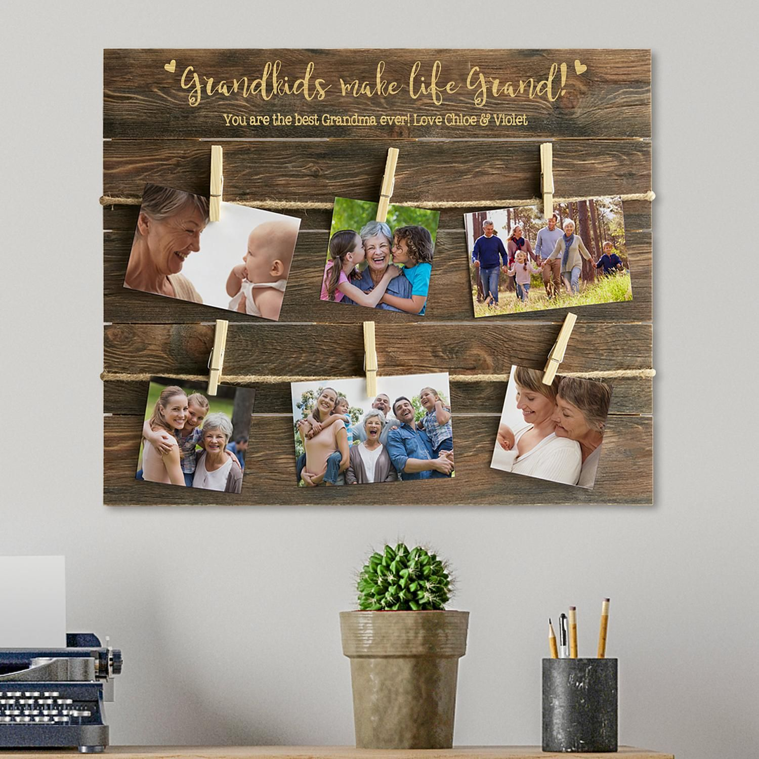 Life is grand oversized wood pallet wall art pinterest pallet