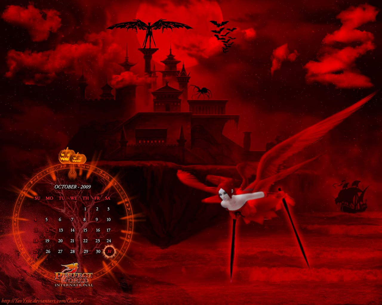 30 scary free halloween desktop wallpapers halloween themes