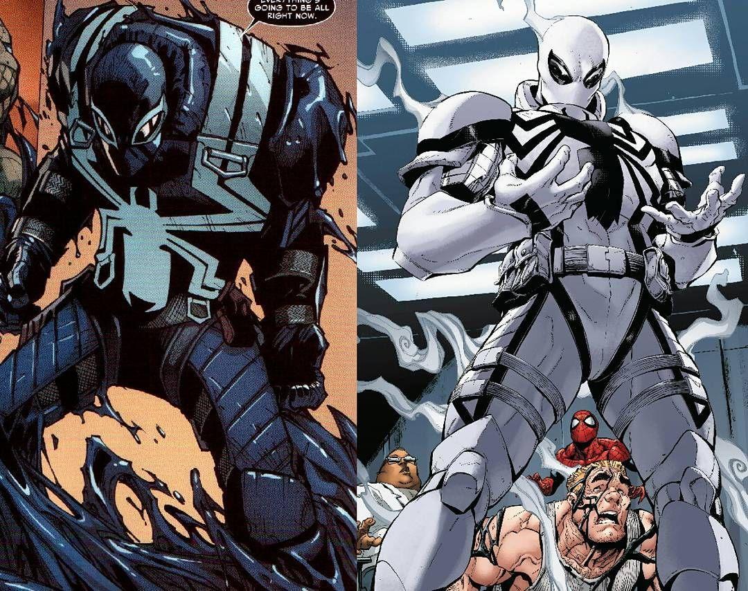 flash thompson (agent venom/anti agent venom). i like the original