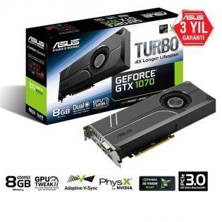 ASUS GTX 1070 PCI Express 3.0 OpenGL®4.5 256-bit DVI-D HDMI DP