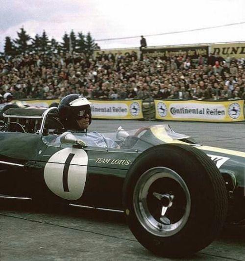 Lotus 33 1965 Nurburgring Jim Clark